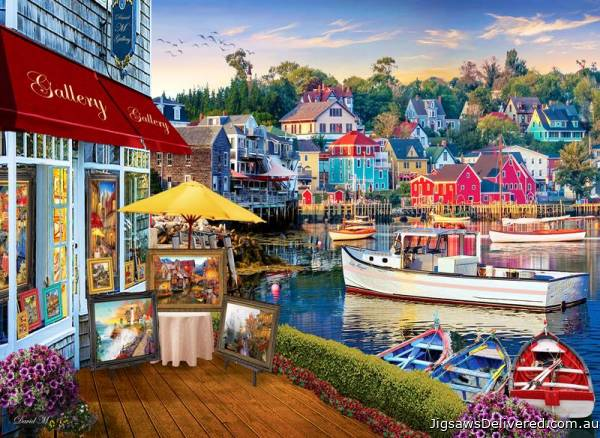 Harbour Gallery (ANA1069), a 1000 piece jigsaw puzzle by Anatolian.