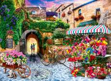 The Flower Market (ANA1066), a 1000 piece Anatolian jigsaw puzzle.