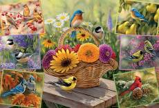 Rosemary's Birds (COB50712), a 2000 piece Cobble Hill jigsaw puzzle.
