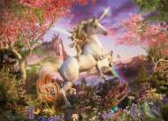 Unicorn (COB80232), a 1000 piece jigsaw puzzle by Cobble HillArtist David Penfound. Click to view this jigsaw puzzle.
