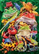 Frog Business (COB80218), a 1000 piece Cobble Hill jigsaw puzzle.