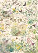 Spring (Country Diary) (COB80211), a 1000 piece jigsaw puzzle by Cobble HillArtist Edith Holden. Click to view this jigsaw puzzle.