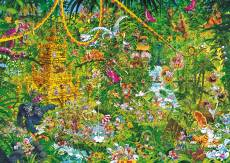 Deep Jungle (HEY29892), a 2000 piece jigsaw puzzle by HEYE and artist Michael Ryba. Click to view this jigsaw puzzle.