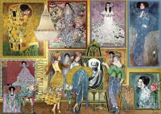 Gustav Klimt (Works of Art) (HOL771325), a 1000 piece jigsaw puzzle by Holdson and artist Gustav Klimt. Click to view this jigsaw puzzle.