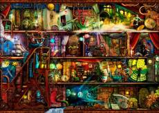 Fantastic Voyage (Treat yo' Shelf) (HOL771387), a 1000 piece jigsaw puzzle by Holdson and artist Aimee Stewart. Click to view this jigsaw puzzle.