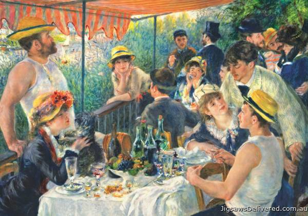 Luncheon of the Boating Party (TRE10499), a 1000 piece jigsaw puzzle by Trefl.