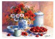 Sweet Afternoon (TRE27093), a 2000 piece jigsaw puzzle by Trefl. Click to view this jigsaw puzzle.