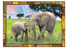 Savannah Elephants. Click to view this product