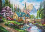 Woodland Seclusion (TRE37327), a 500 piece jigsaw puzzle by Trefl. Click to view this jigsaw puzzle.