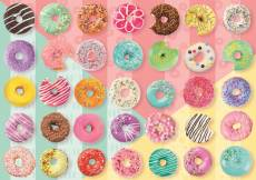 Donuts (TRE37334), a 500 piece jigsaw puzzle by Trefl. Click to view this jigsaw puzzle.
