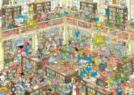 The Library (JUM19092), a 1000 piece jigsaw puzzle by JumboArtist Jan van Haasteren. Click to view this jigsaw puzzle.