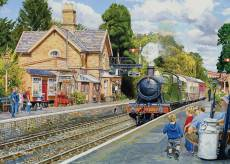 Hampton Loade, Severn Valley Railway (Large Pieces) (HOL771820), a 500 piece Holdson jigsaw puzzle.
