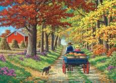 Shady Lane (Living a Country Life) (HOL771660), a 1000 piece Holdson jigsaw puzzle.