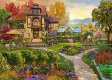 Vineyard Retreat (Home Sweet Home) (HOL771714), a 1000 piece jigsaw puzzle by Holdson and artist David Maclean. Click to view this jigsaw puzzle.