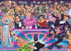 Strictly Can't Dance! (Original Wasgij 30) (HOL771615), a 1000 piece jigsaw puzzle by Holdson and artist James Alexander. Click to view this jigsaw puzzle.