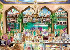 Venice la Dolce Vita (JUM18809), a 1000 piece jigsaw puzzle by Jumbo and artist Chrys Kozak. Click to view this jigsaw puzzle.
