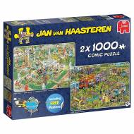 Food Festival (2 x 1000pc) (JUM19099), a 1000 piece Jumbo jigsaw puzzle.