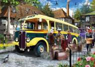Catching the Bus (JUM11260), a 500 piece jigsaw puzzle by Jumbo. Click to view this jigsaw puzzle.