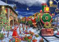 Santa's Delivery (2 x 1000pc) (JUM11268), a 1000 piece jigsaw puzzle by JumboArtist Daniela Pirola. Click to view this jigsaw puzzle.