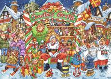 Santa's Little Helpers! (Christmas Wasgij 14) (HOL771752), a 1000 piece jigsaw puzzle by Holdson and artist Neil Easton. Click to view this jigsaw puzzle.