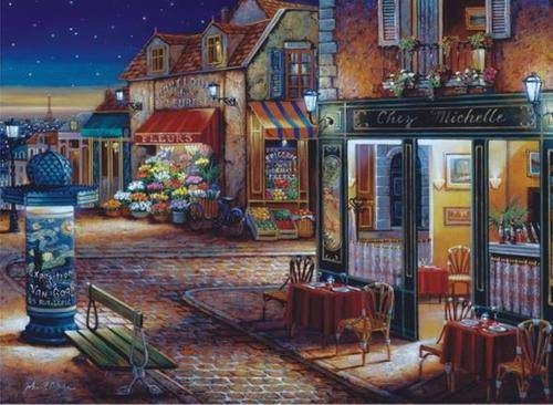 Starry Night (ANA3164), a 1000 piece jigsaw puzzle by Anatolian.