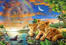 Lion Cubs. Click to view this product