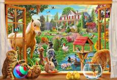 Animals in the Garden. Click to view this product