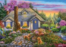 Morning Glory (Moments and Memories) (HOL772025), a 1000 piece Holdson jigsaw puzzle.