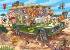 Safari Surprise! (Original Wasgij 31) (HOL771882), a 1000 piece Holdson jigsaw puzzle.