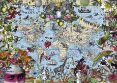 Quirky World Map. Click to view this product