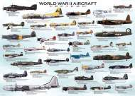 World War II Aircraft (EUR60075), a 1000 piece jigsaw puzzle by Eurographics. Click to view this jigsaw puzzle.