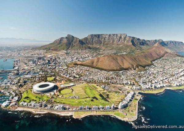 Cape Town, South Africa (RB14084-8), a 1000 piece jigsaw puzzle by Ravensburger.