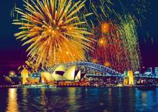 Fireworks over Sydne.... Click to view this product