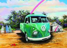 Green Kombi Ute. Click to view this product