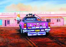 Pink Roadhouse (BL02047), a 1000 piece Blue Opal jigsaw puzzle.