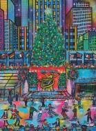 Rockefeller Park Christmas, New York (RB16424-0), a 500 piece Ravensburger jigsaw puzzle.