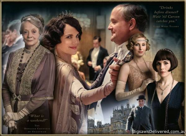 Downton Abbey (RB16422-6), a 500 piece jigsaw puzzle by Ravensburger.
