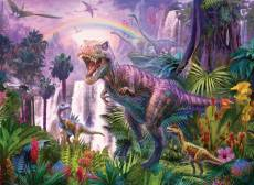 King of the Dinosaurs (RB12892-1), a 200 piece Ravensburger jigsaw puzzle.