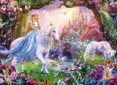 Magical Unicorn (RB12887-7), a 100 piece Ravensburger jigsaw puzzle.