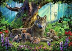 Wolves in the Forest. Click to view this product
