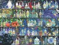 Poisons and Potions (RB16010-5), a 2000 piece jigsaw puzzle by Ravensburger. Click to view this jigsaw puzzle.