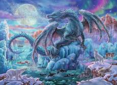 Mystical Dragons (RB14839-4), a 500 piece Ravensburger jigsaw puzzle.