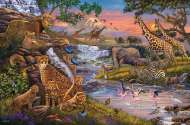 Animal Kingdom (RB16465-3), a 3000 piece jigsaw puzzle by Ravensburger. Click to view this jigsaw puzzle.