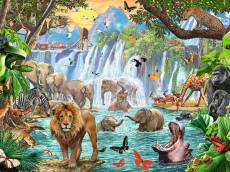 Waterfall Safari. Click to view this product