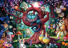 Alice in Wonderland - Most Everyone is Mad (RB16456-1), a 1000 piece Ravensburger jigsaw puzzle.
