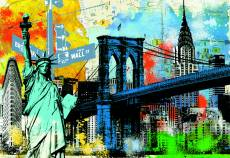 New York (EDU17120), a 1500 piece jigsaw puzzle by Educa. Click to view this jigsaw puzzle.