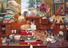 Writer's Block (GIB062908), a 1000 piece jigsaw puzzle by Gibsons and artist Steve Read. Click to view this jigsaw puzzle.