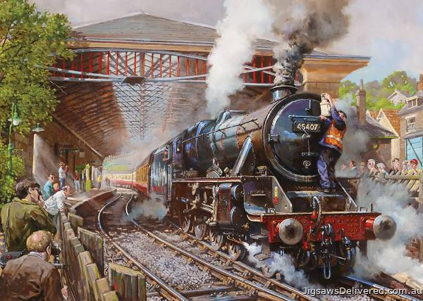 Pickering Station (GIB062847), a 1000 piece jigsaw puzzle by Gibsons.