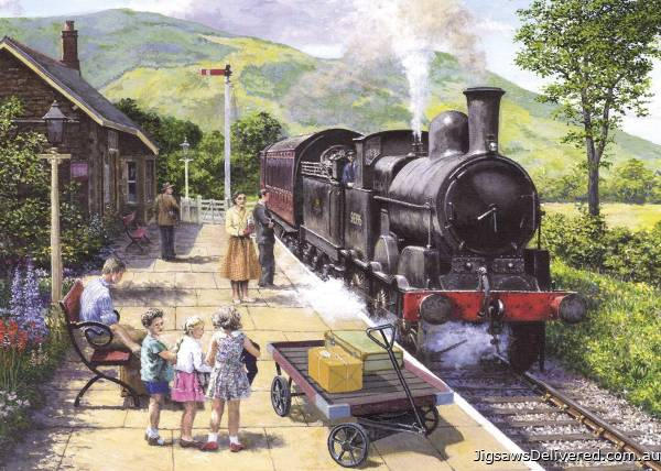 All Aboard to Keswick (GIB062724), a 1000 piece jigsaw puzzle by Gibsons.