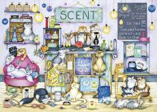 Scent (GIB062878), a 1000 piece jigsaw puzzle by Gibsons and artist Linda Jane Smith. Click to view this jigsaw puzzle.